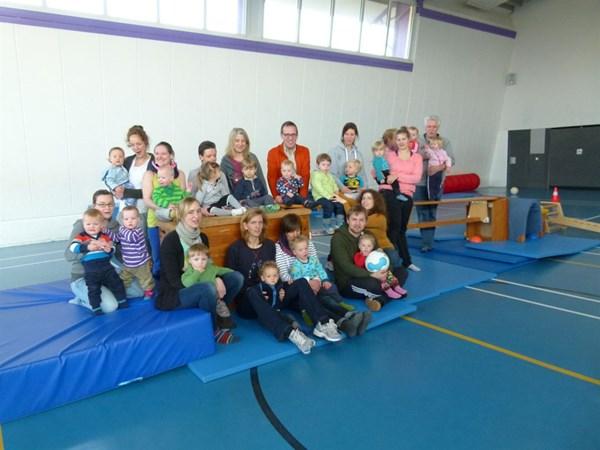 Wacker Meckenbeck Eltern-Kind-Turnen Gruppenbild