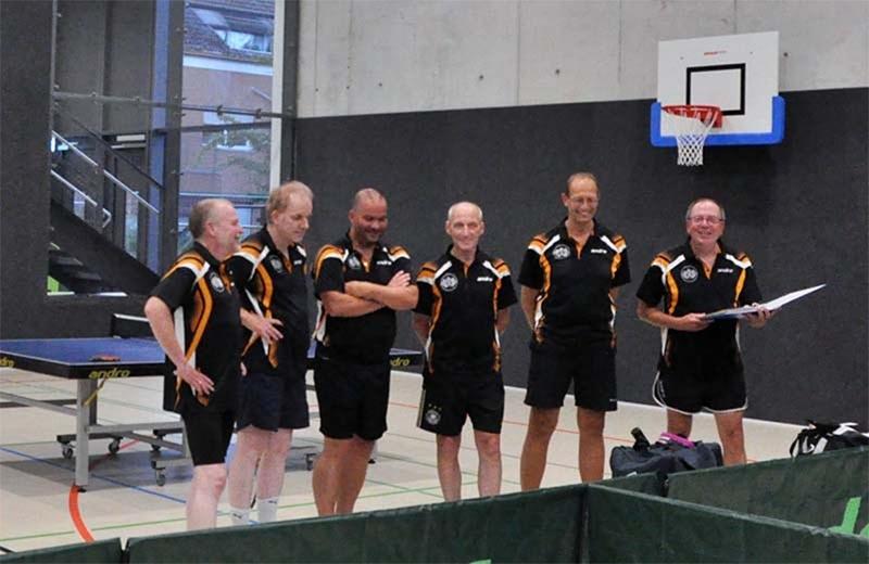 Wacker Mecklenbeck Tischtennis Mannschaft1