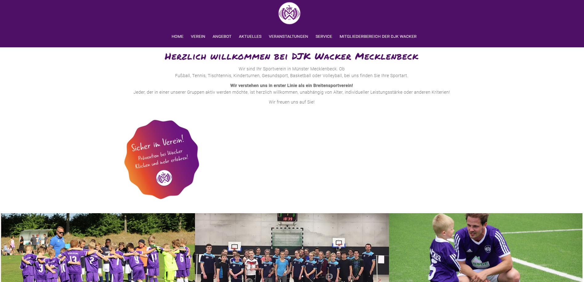 Wacker Mecklenbeck im neuen Gesicht
