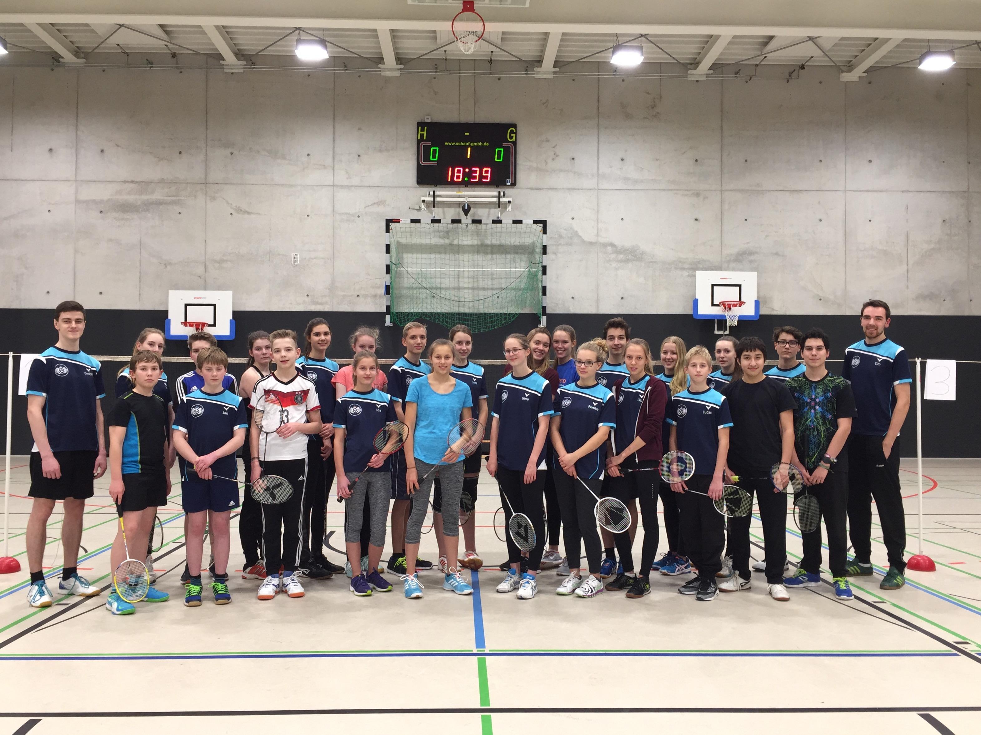 Badminton-Jugend feiert 6-jähriges Bestehen
